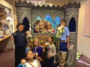 children at Cathedral of the Incarnation