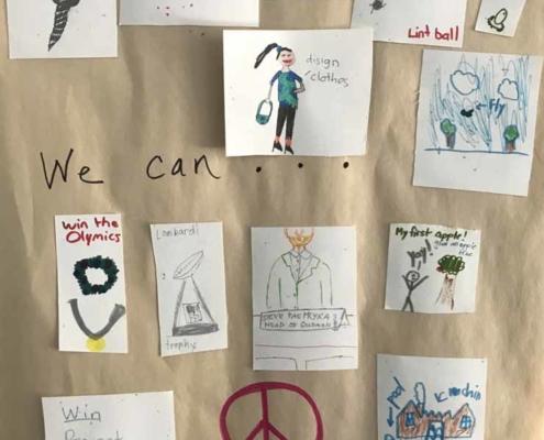 TP shows each child's idea of experiencing their faith