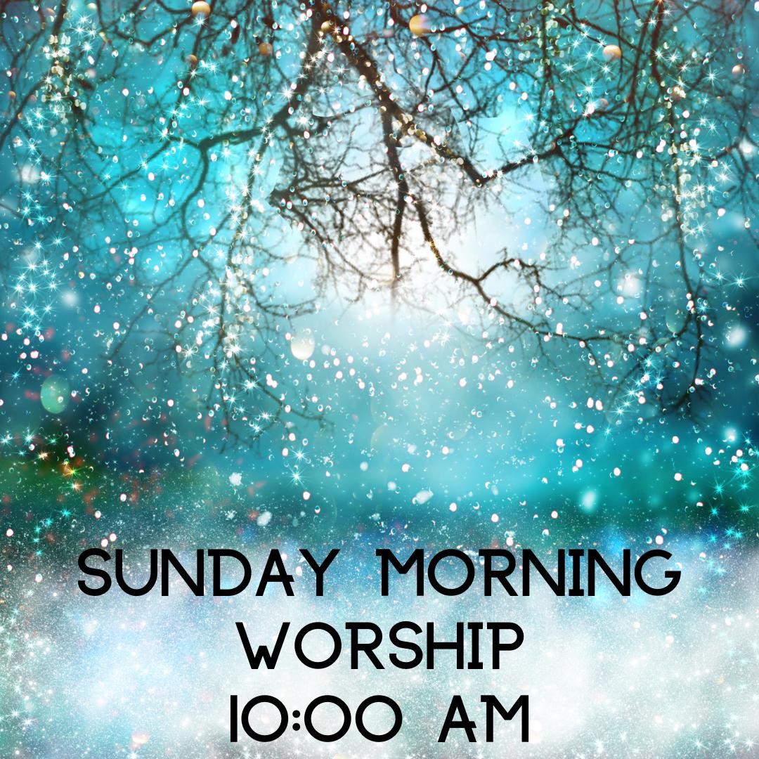 Virtual Sunday Morning Worship
