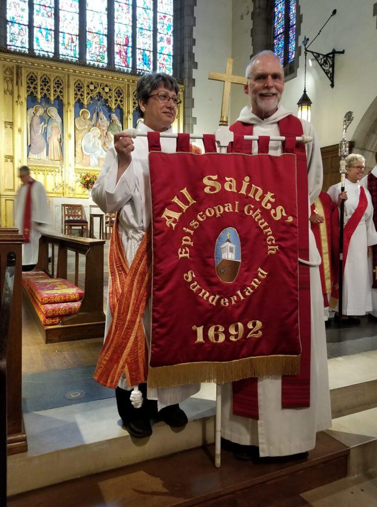 All Saints clergy