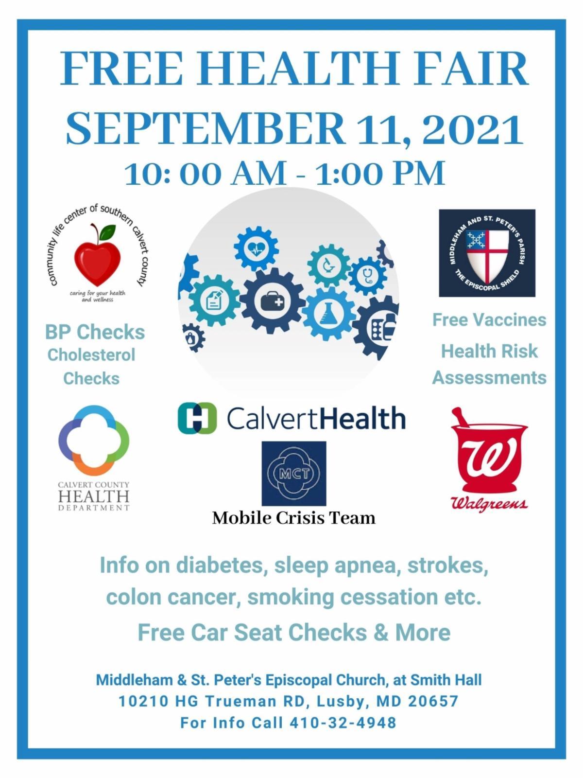 2021 Community Health Fair