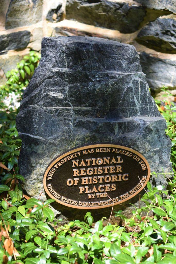 National Historic Plaque