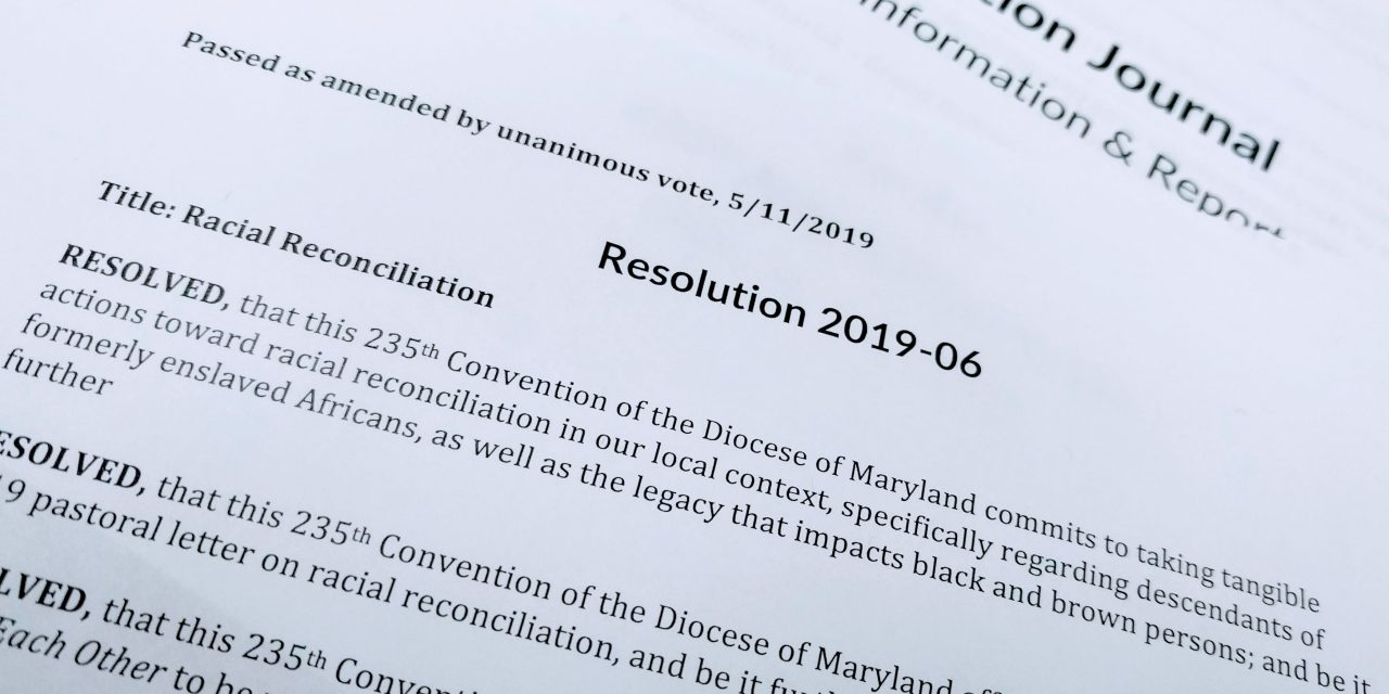 Resolution on racial reconciliation passes unanimously at 235th Diocesan Convention
