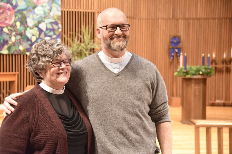 Baltimore Sun – Holy communion: As they observe Advent, two churches in the Towson area prepare to merge into one