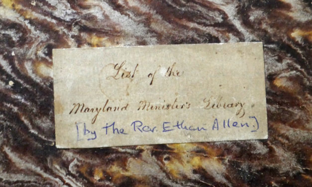 From the Archives: History of the Maryland Diocesan Archives